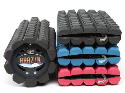 athlete recovery: Brazyn foam Roller