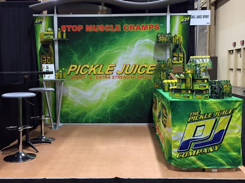 Athlete recovery: Pickle Juice for electrolytes