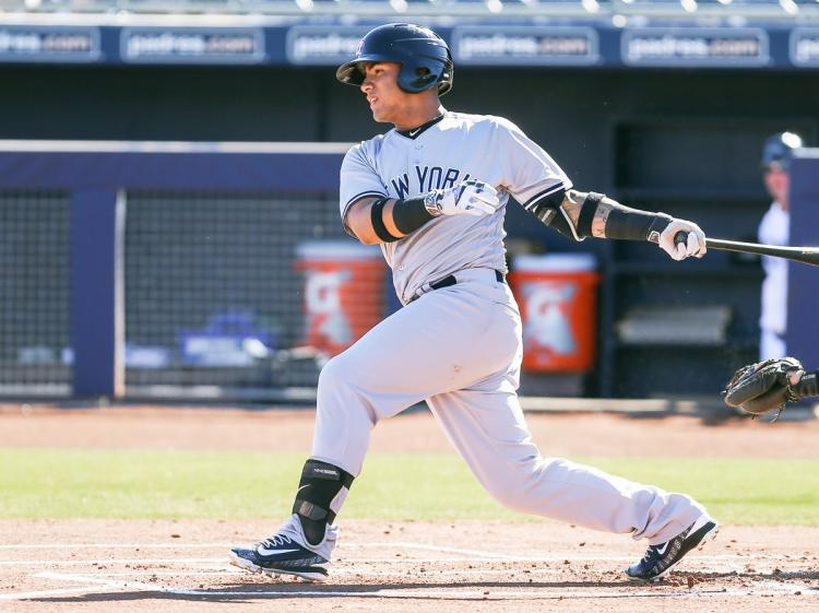 Yankees shortstop Gleyber Torres is a rising MLB star and a great athlete endorser.