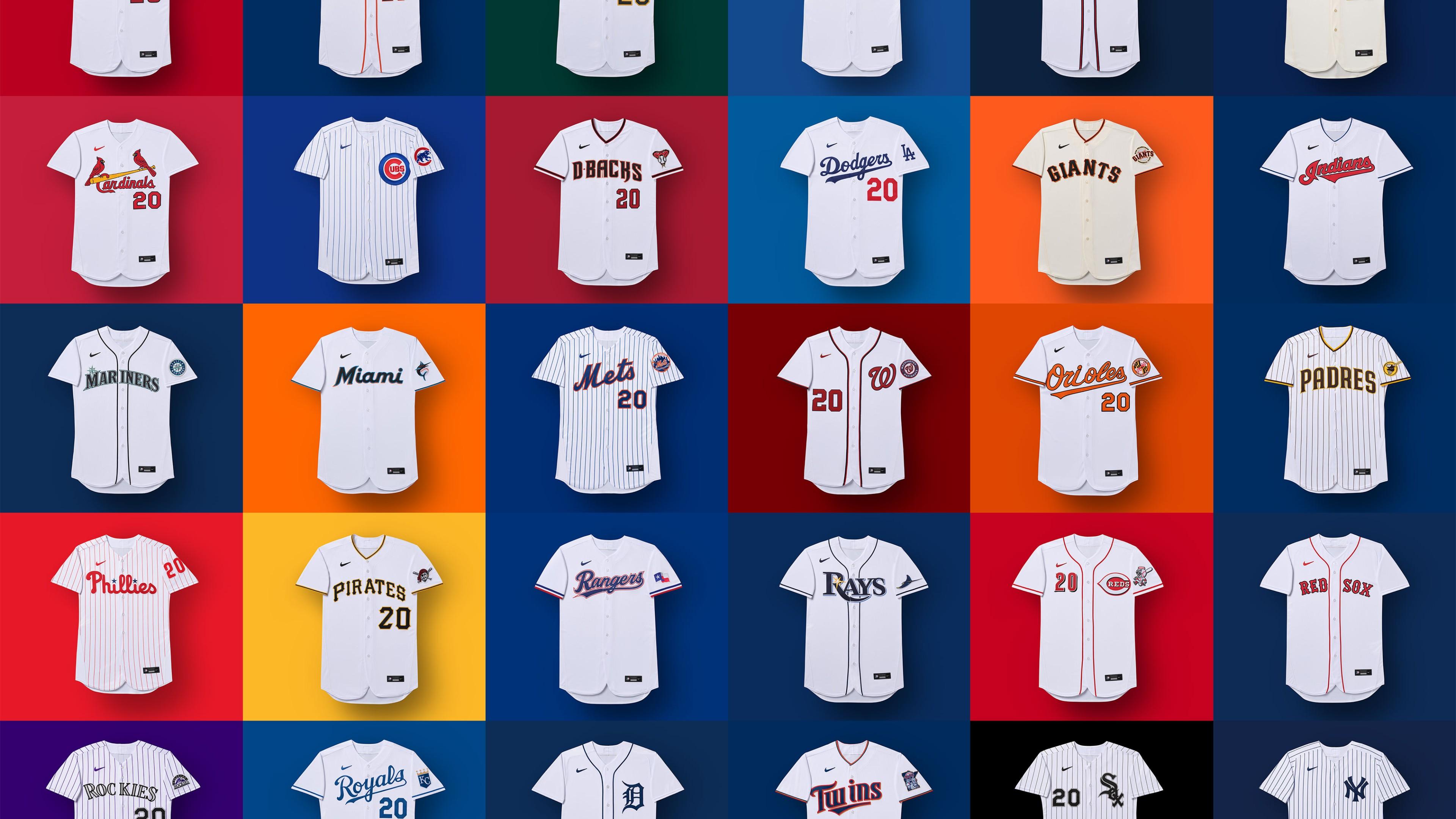 MLB uniforms
