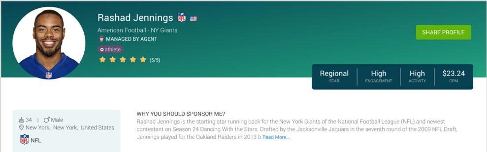 rashad-jennings-opensponsorship-sports-sponsorship