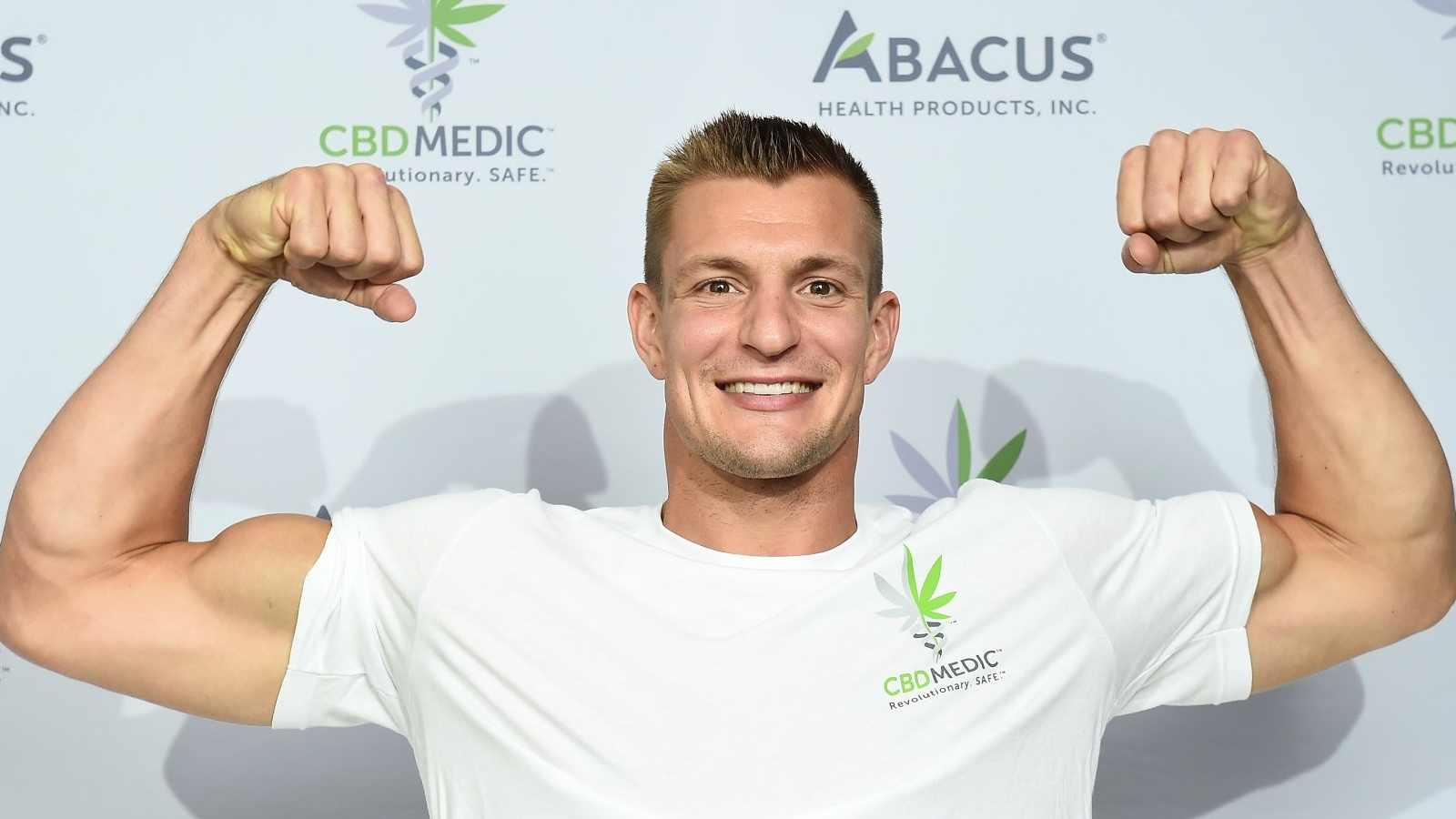 Rob Gronkowski has a sponsorship with CBDMedic and talks often about CBD helping pain relief.